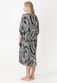Indiska - GRAPE - Poncho - black - 1