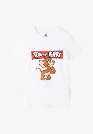 Print T-shirt - bianco st.jerry