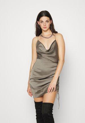 ENHAMILTON DRESS - Shift dress - dark grey