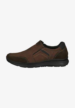Sneakersy niskie - dunkel braun/braun