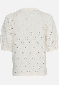 Moss Copenhagen - KARISSA SS - Basic T-shirt - vanilla ice - 3