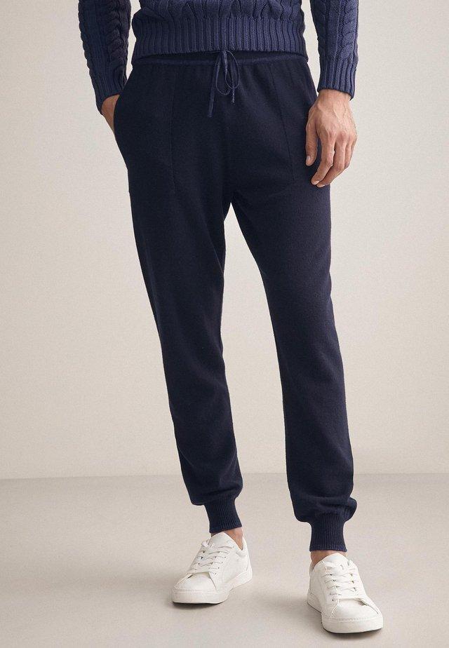 Tracksuit bottoms - blu navy