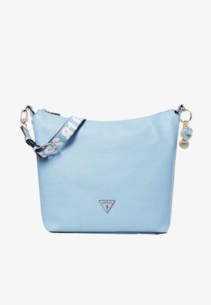 MIT LOGO - Across body bag - light blue