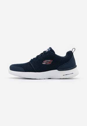 SKECH-AIR DYNAMIGHT - Sneakersy niskie - navy/red