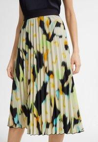 comma - Pleated skirt - blue - 3
