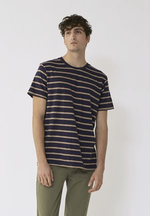 SCOTT - Print T-shirt - dark blue