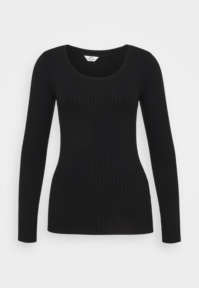 SOLID TINILLA - Long sleeved top - black