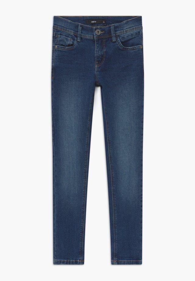NLMPILOU - Džíny Slim Fit - medium blue denim
