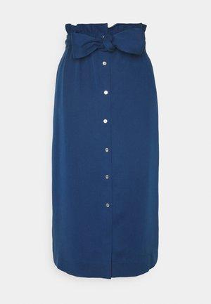 PAPER BAG SKIRT - Kynähame - blue jean