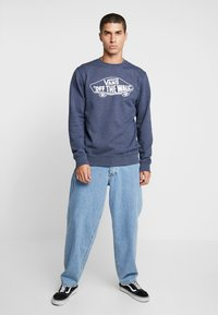 Vans - CREW - Sweatshirts - dress blues heather - 1