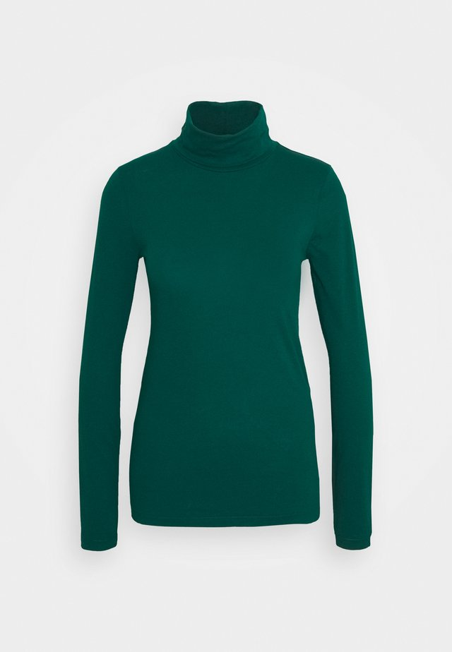 TISSUE TURTLENECK TEE - T-shirt à manches longues - dark spruce