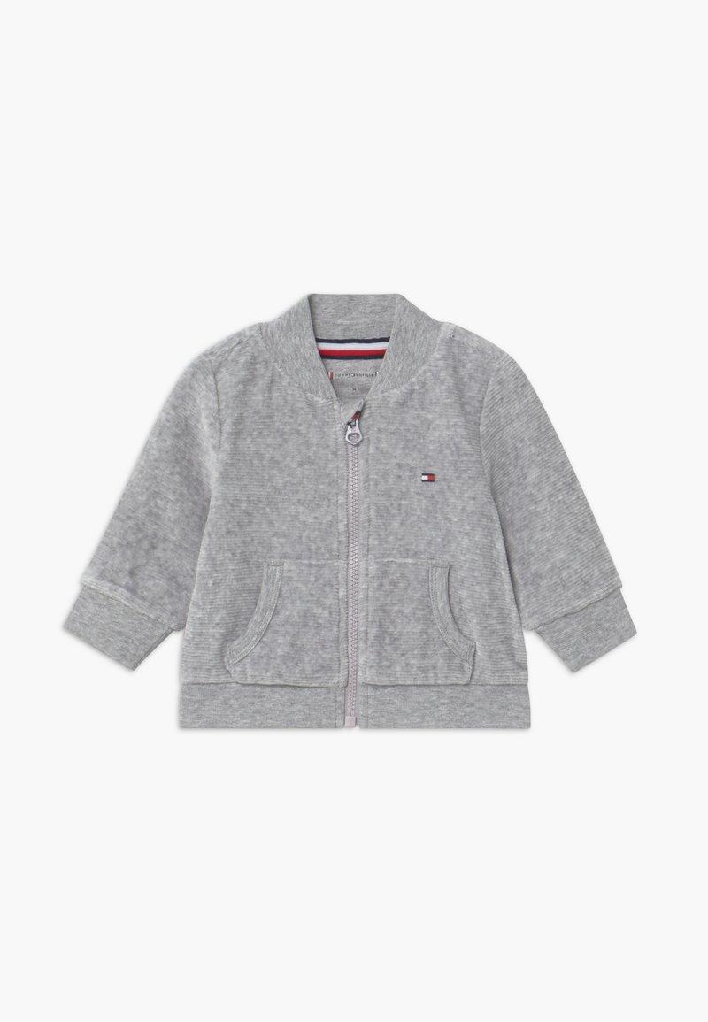 Tommy Hilfiger - BABY ZIP UP - veste en sweat zippée - grey