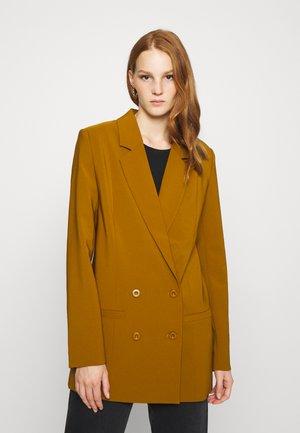 JOELLE - Short coat - tapenade