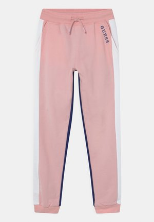 JUNIOR ACTIVE  - Tracksuit bottoms - alabaster pink