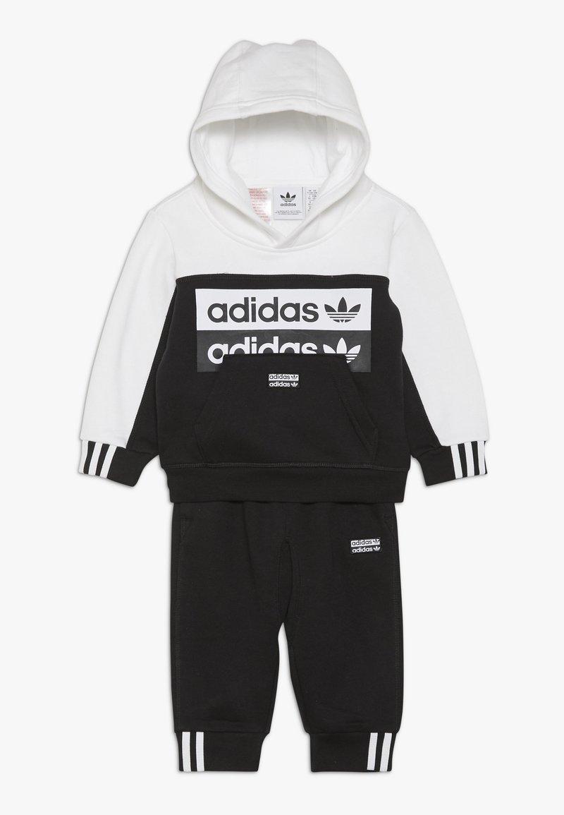 adidas Originals - HOODIE SET - Sweat à capuche - black/white