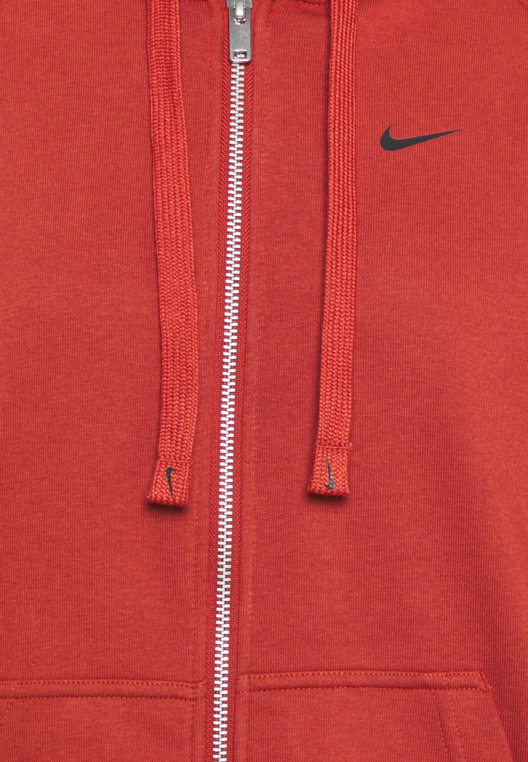Nike Performance DRY GET FIT - Zip-up hoodie - firewood orange eRR1N