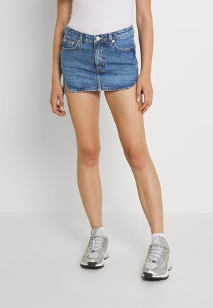 PARADE SKIRT - Mini skirt - harper blue