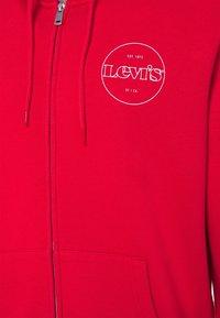 Levi's® - GRAPHIC ZIP UP UNISEX - Sweat à capuche zippé - reds - 2