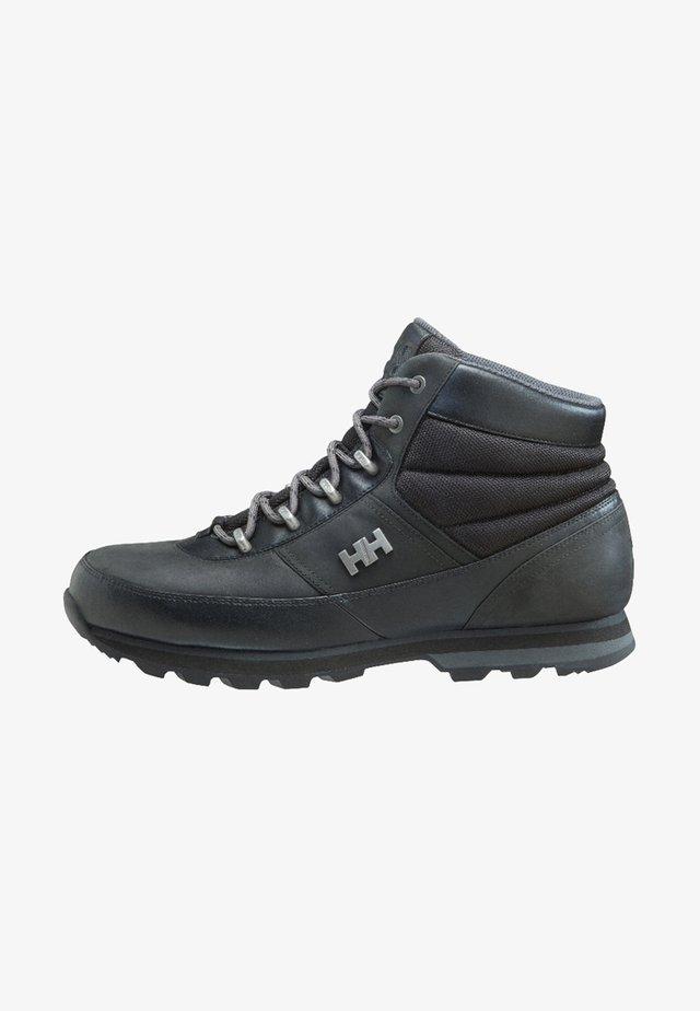WOODLANDS - Hiking shoes - schwarz
