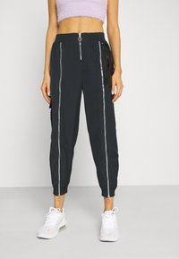 Nike Sportswear - Pantalones deportivos - black/dark smoke grey - 0