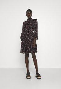 Bruuns Bazaar - ALCEA MARY DRESS - Shirt dress - black - 0