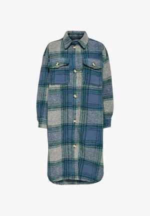 Classic coat - faded denim