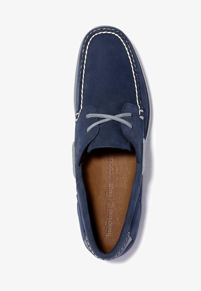 Chaussures bateau - black iris