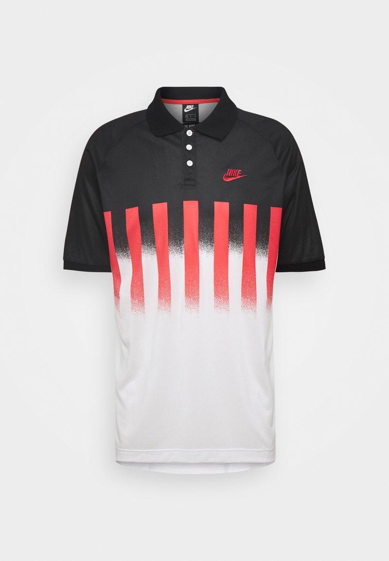 Nike Sportswear - RE ISSUE - Polo - ember glow/black