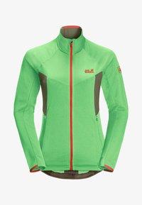 Jack Wolfskin - GRADIENT  - Fleece jacket - summer green - 5