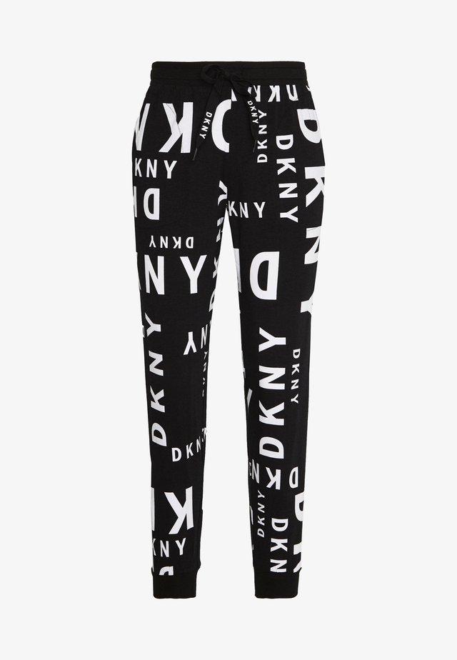 JOGGER - Pantalón de pijama - black logo
