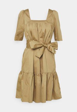 SLFWANDA SHORT DRESS  - Day dress - kelp