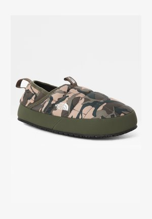 Pantofole - NEW TAUPE GREEN EXPLORER CAMO PRINT/NEW TAUPE GREEN