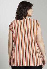 MY TRUE ME TOM TAILOR - Print T-shirt - mutlicolor stripe - 2