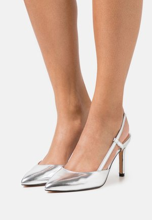 ONLPEACHES SLING BACK - High heels - silver