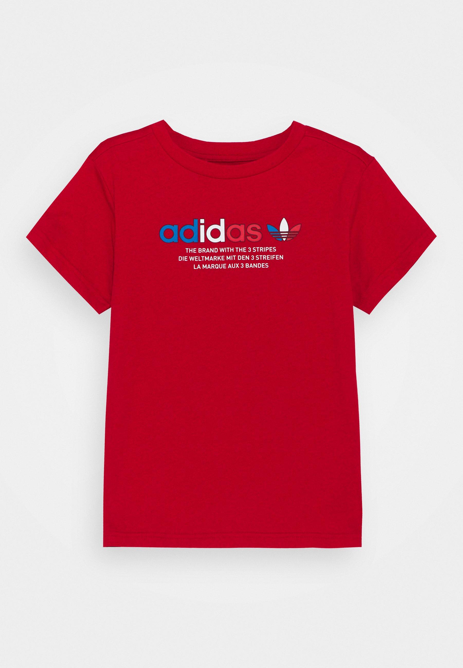 Kids TRI COLOUR LOGO UNISEX - Print T-shirt