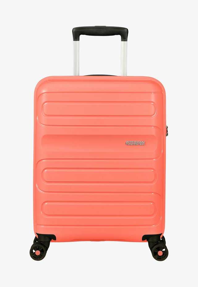 SUNSIDE - Wheeled suitcase - living coral