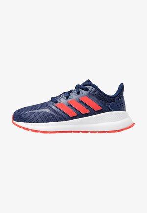 RUNFALCON UNISEX - Zapatillas de running neutras - dark blue/active red/core black