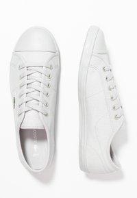 Lacoste - ZIANE - Sneaker low - light grey - 3