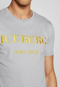 Iceberg - Print T-shirt - grigio - 4