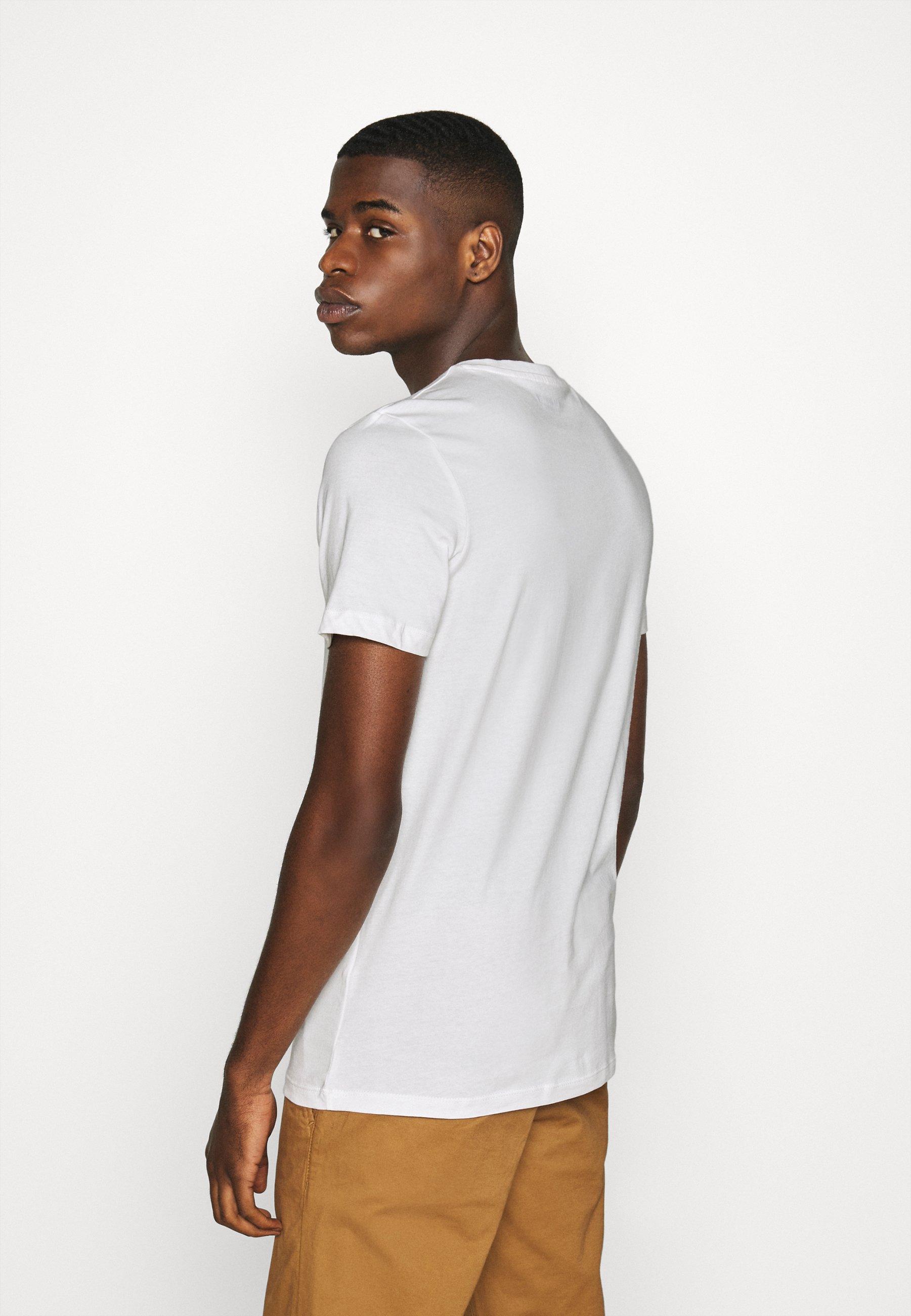 Jack & Jones JORSTEIN - Print T-shirt - cloud dancer l6064