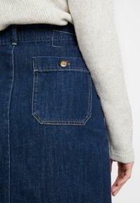 Leon & Harper - JACQUIE BRUT - Pencil skirt - blue - 3