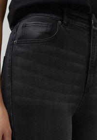 PULL&BEAR - SKINNY HIGH WAIST - Jeans Skinny Fit - dark grey - 5