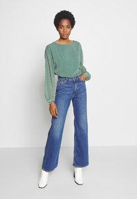 Monki - YOKO - Straight leg jeans - blue medium dusty - 1