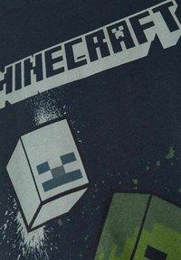 Name it - MINECRAFT - T-shirt print - dark sapphire - 3