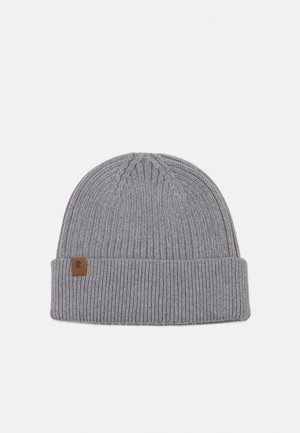 SHORT BEANIE - Beanie - light grey mélange