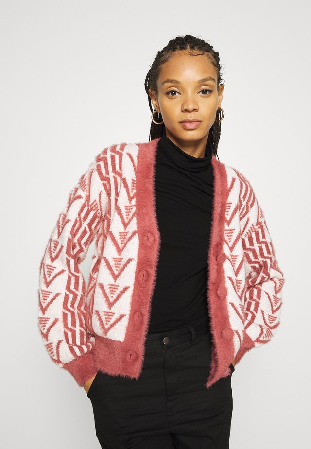 ASSAY - Cardigan - red