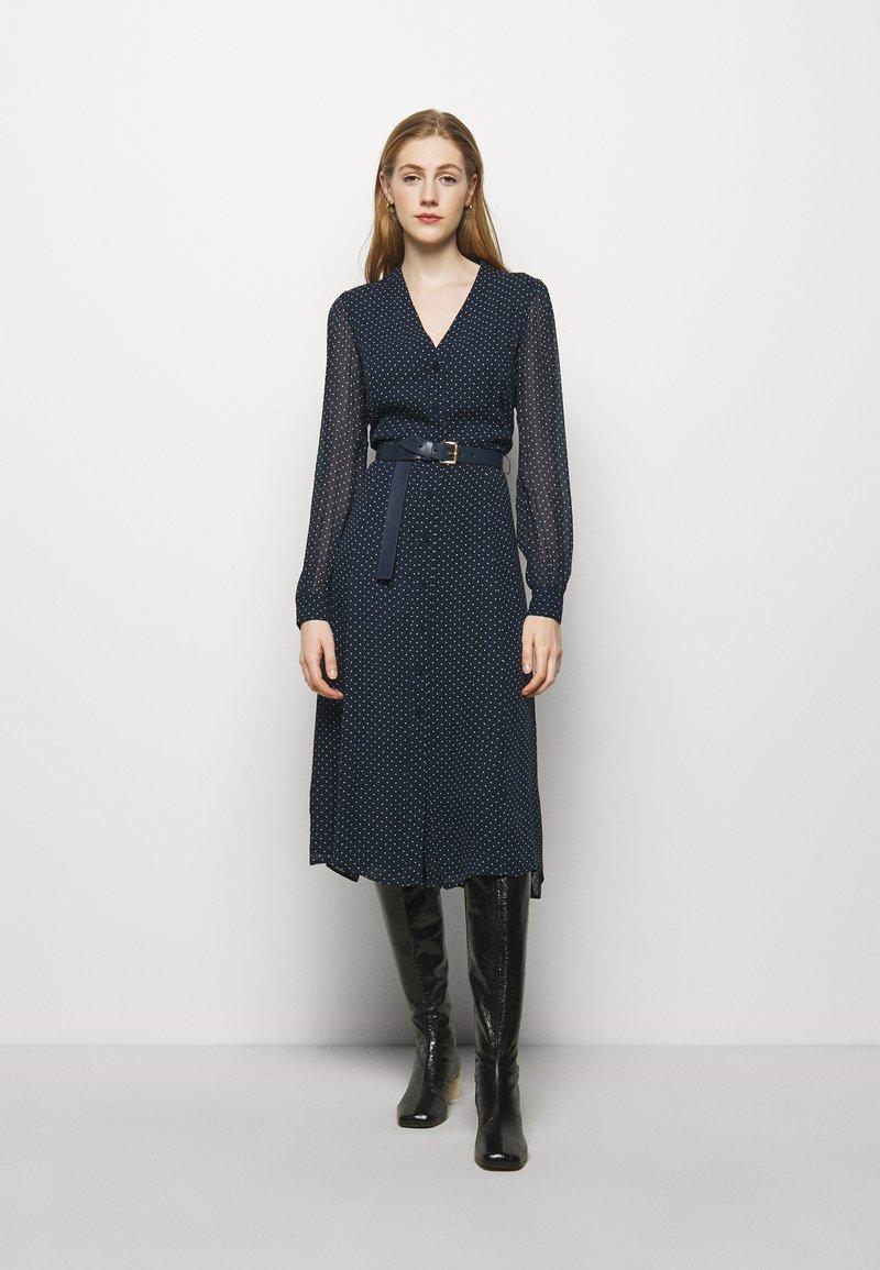 MICHAEL Michael Kors - PERFECTION BELTED - Day dress - dark blue
