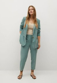 Violeta by Mango - FLEW - Trousers - grün - 1
