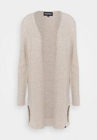 Ecoalf - CABO LONG WOMAN - Cardigan - beige - 0