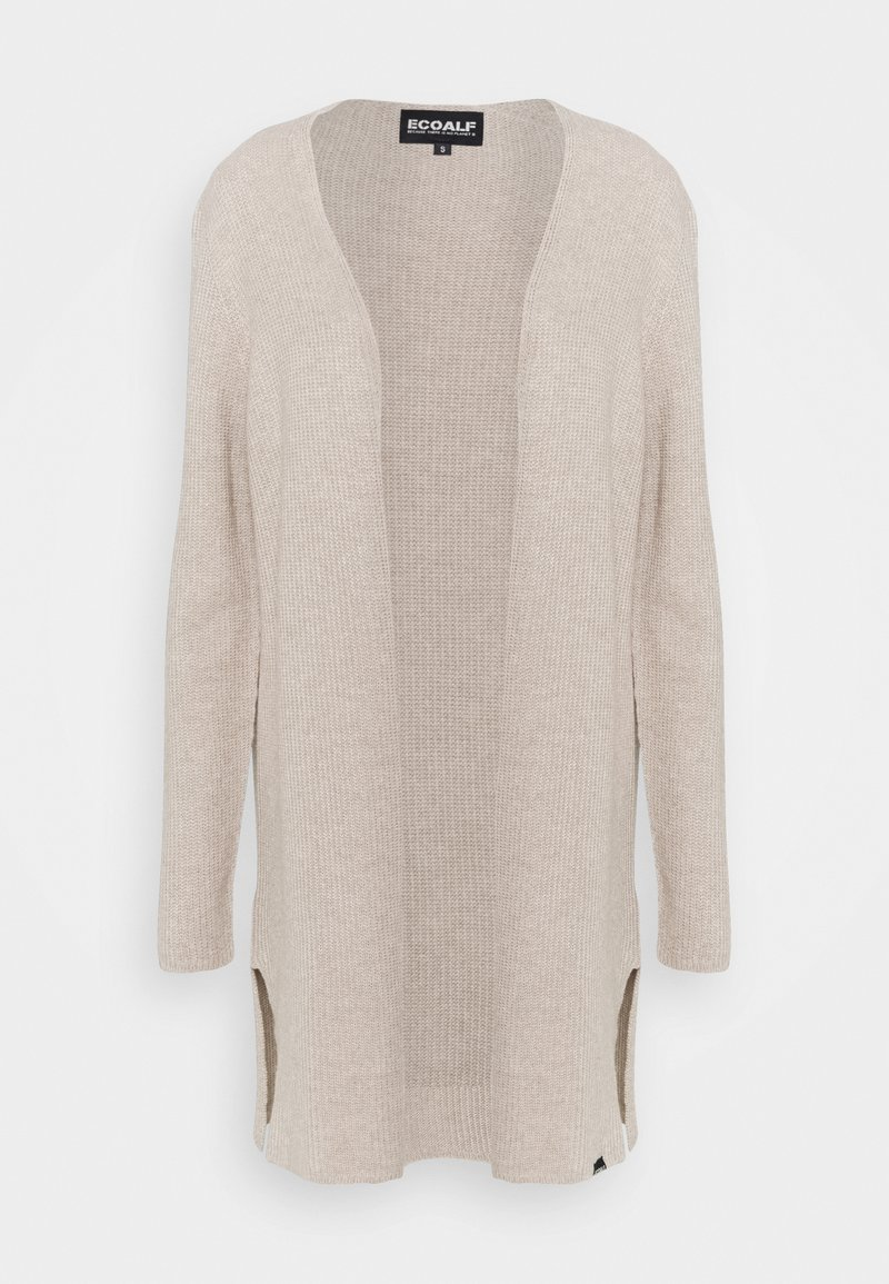 Ecoalf - CABO LONG WOMAN - Cardigan - beige